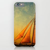 iPhone & iPod Case featuring The America in Key West is Leaving for Sunset by Susanne Van Hulst