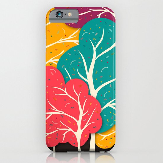 Happy Forest iPhone & iPod Case