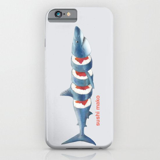 Sushi Mako (color option) iPhone & iPod Case