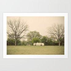 lost in the trees::austin Art Print
