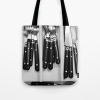 Silverware. Tote Bag
