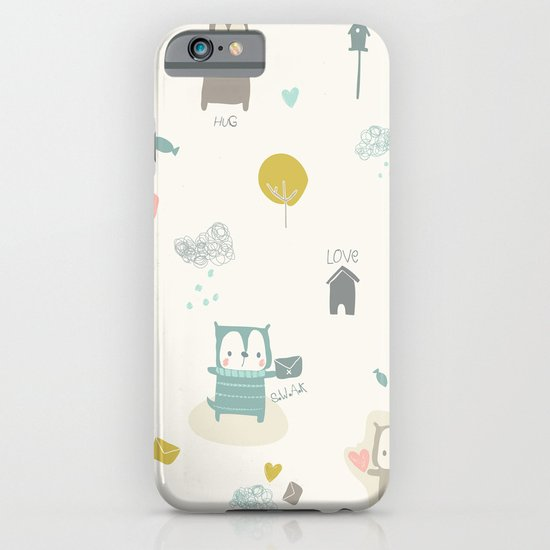 Funny Bears iPhone & iPod Case