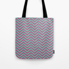 Hot Pink & Mint Tote Bag