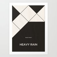 Quantic Dream's Heavy Ra… Art Print