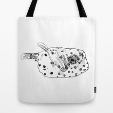 Little Puffer Tote Bag