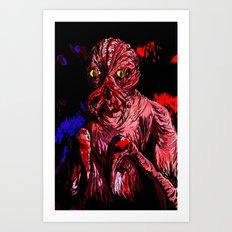 CRABFACE Art Print