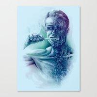 Hygienic Zombie Canvas Print