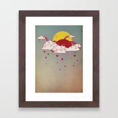 Ganbare Nippon Framed Art Print