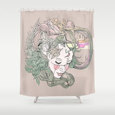 H I N D S I G H T Shower Curtain