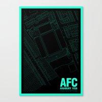 Highbury - It's Arsenal … Canvas Print