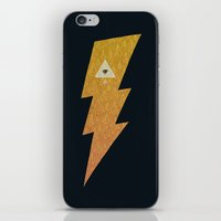 Something with lightning and stuff iPhone & iPod Skin