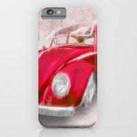 VW Beetle Red iPhone 6 Slim Case