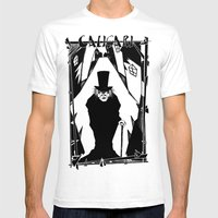 Dr. Caligari Mens Fitted Tee White SMALL