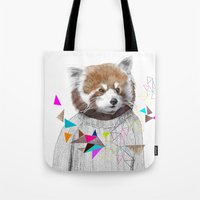 RED PANDA By Jamie Mitch… Tote Bag