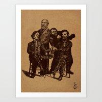 A Civil-er War Art Print