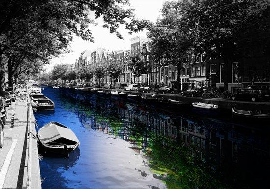 Amsterdam Colorsplash Art Print