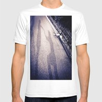 Shadow Proposal Mens Fitted Tee White SMALL