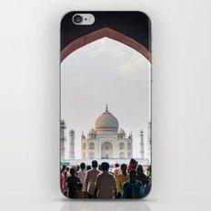 Entering the Taj Mahal iPhone & iPod Skin