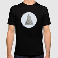 CLOCK-CASE Mens Fitted Tee Black SMALL