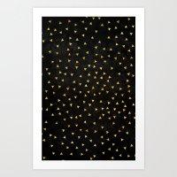 Golden Triangles - For I… Art Print