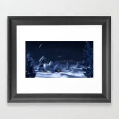 Christmas Eve Framed Art Print