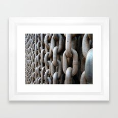 Chains #1 Framed Art Print