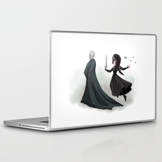 Mad Love Laptop & iPad Skin