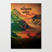 Wilderness Seeker Canvas Print