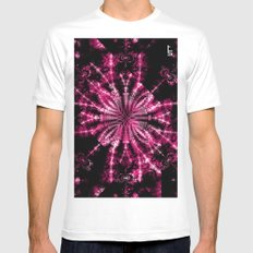 Fractal Imagination - Passion I Mens Fitted Tee SMALL White