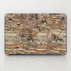 Peeling Worm Wood iPad Case