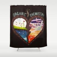 Organic Chemistry Shower Curtain