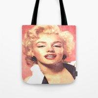 Marilyn Monroe 3 Tote Bag