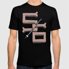S6 STRIKE SMALL Black Mens Fitted Tee