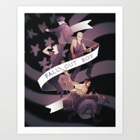 Poster Boys For Your Sce… Art Print