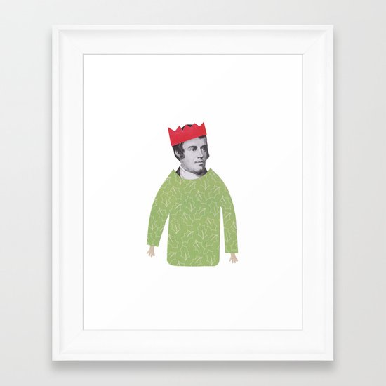 The embarrassing Christmas Jumper Framed Art Print