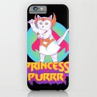 Princess Of Purrr iPhone 6 Slim Case