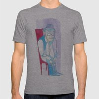 Abra Cadabra Mens Fitted Tee Athletic Grey SMALL