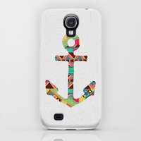 Galaxy S4 Cases featuring you make me home by Bianca Green