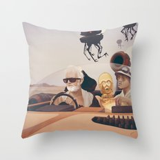 Fear And Loathing On Tat… Throw Pillow