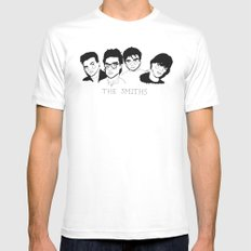 The Smiths SMALL Mens Fitted Tee White