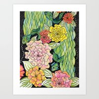 Fish Tropic Art Print