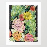 Fish Tropic Art Print