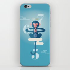 Monkey Gone to Heaven iPhone & iPod Skin