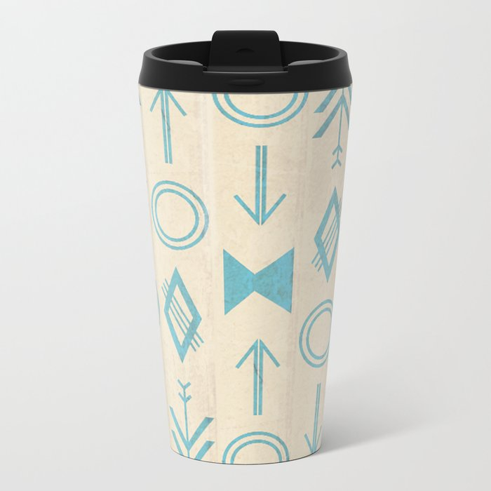 Simple Design Travel Mug By Stranger Designs Society6
