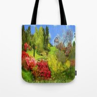 Spring Painting Oil Tote Bag