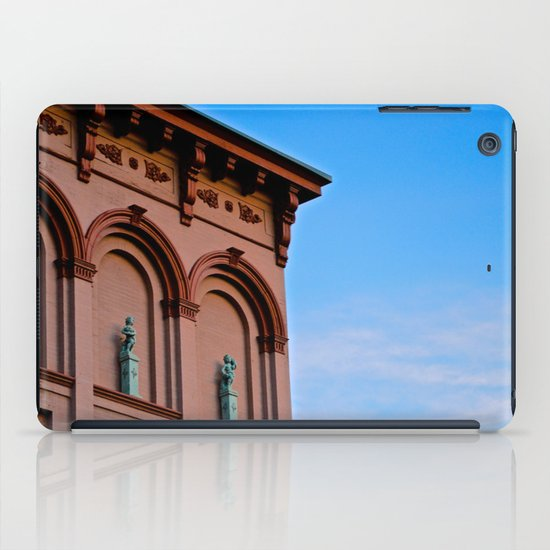 Cherubs on the Ledge iPad Case