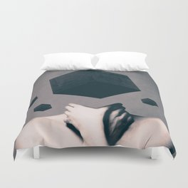 Duvet Cover - Think Outside The Box  - dada22