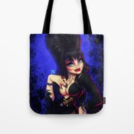 Elvira: Mistress Of  The… Tote Bag
