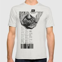 Scientist Mens Fitted Tee Silver SMALL