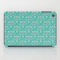 Damask Pattern Torquoise… iPad Case